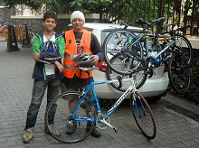 Cycling Treasure Hunt on 15th December 2013 organised by PYC Hindu Gymkhana