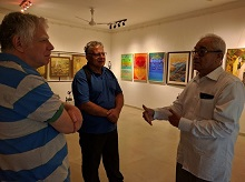 Guests from Israel at Indiaart Gallery - 1
