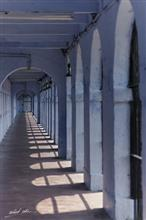 Corridor at Cellular Jail, Port Blair, Andamans