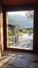 Looking out from Paro Dzong