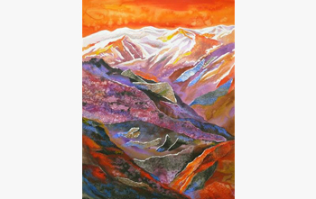 Call of the Hills - Paintings and Sketches from Himachal and Uttarakhand