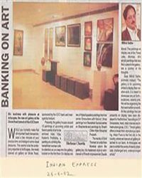 Banking on Art Indian Express