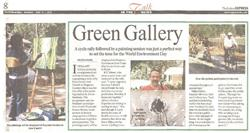 Green Gallery - Event at Empress Garden Indian Express
