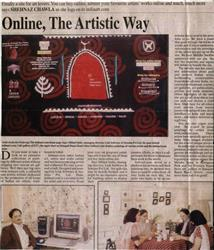 Online, The Artistic way Indian Express